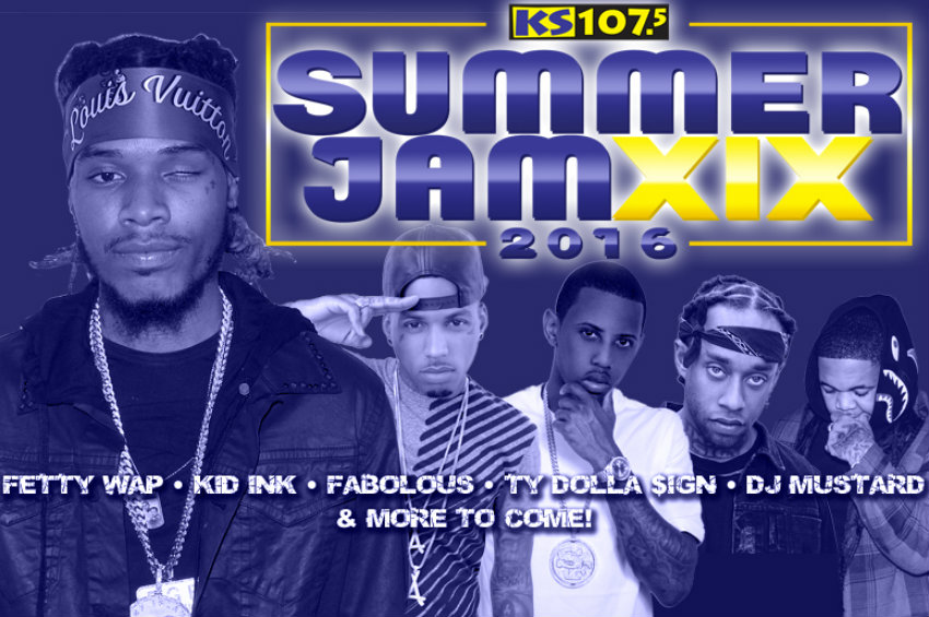 Jam'n 94.5 Summer Jam 2016: Fetty Wap, Ty Dolla Sign, Kid Ink, Fabolous, Kevin Gates & Young Thug at Xfinity Center