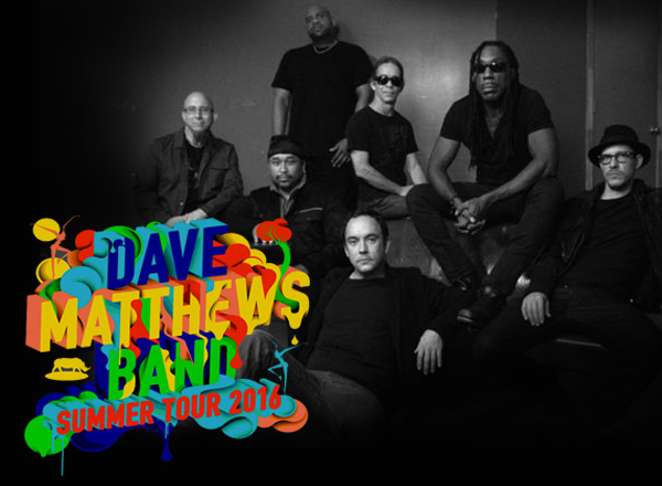 Dave Matthews Band Summer Tour 2016 at Xfinity Center