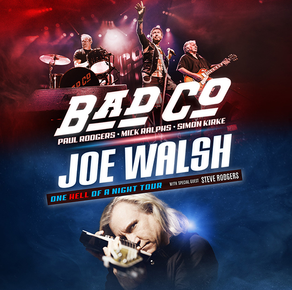 Bad Company & Joe Walsh at Xfinity Center