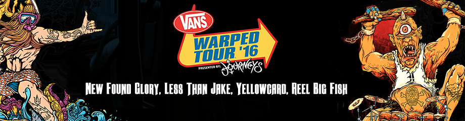 Vans Warped Tour at Xfinity Center