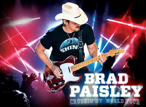 Brad Paisley, Tyler Farr & Maddie and Tae at Xfinity Center