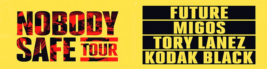 Future, Migos, Tory Lanez & Kodak Black at Xfinity Center