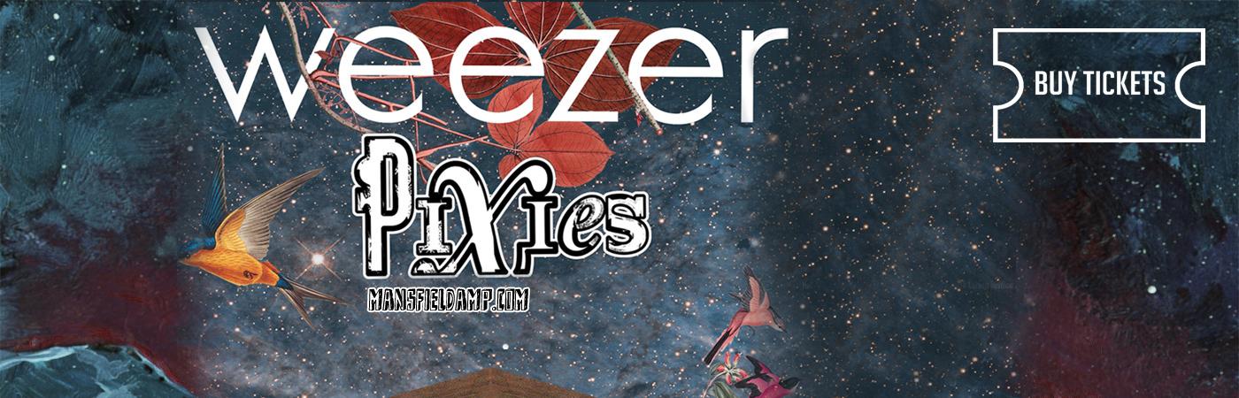Weezer Amp Pixies Xfinity Center Mansfield Massachusetts