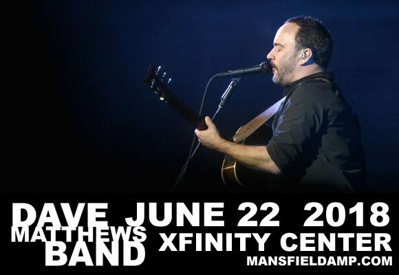 Dave Matthews Band | Xfinity Center | Mansfield, Massachusetts