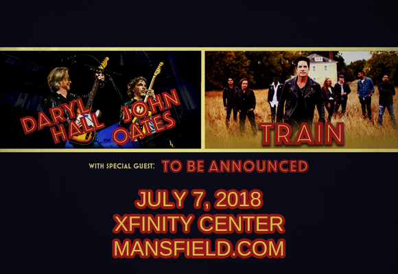 Hall and Oates & Train | Xfinity Center | Mansfield