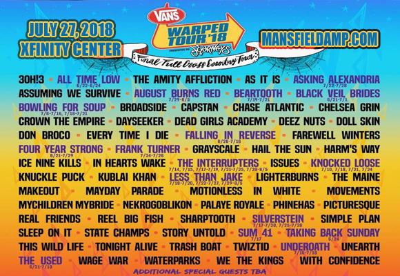 Warped Tour Ct