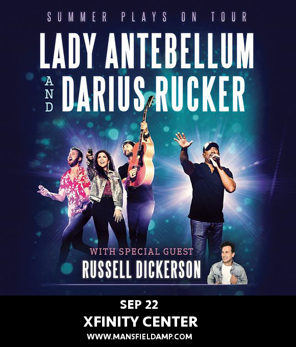 Lady Antebellum, Darius Rucker & Russell Dickerson at Xfinity Center