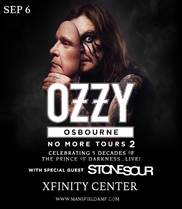 Ozzy Osbourne & Stone Sour at Xfinity Center