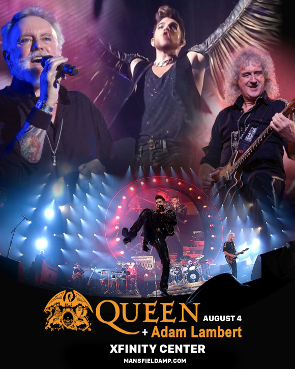 Queen & Adam Lambert at Xfinity Center