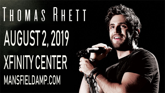 Thomas Rhett, Dustin Lynch & Russell Dickerson at Xfinity Center