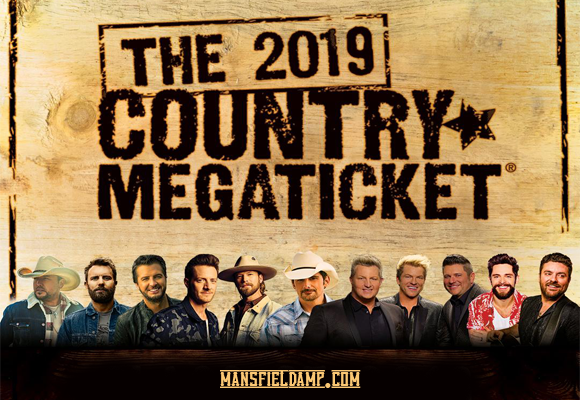 2019 Country Megaticket Tickets (Includes All Performances) at Xfinity Center
