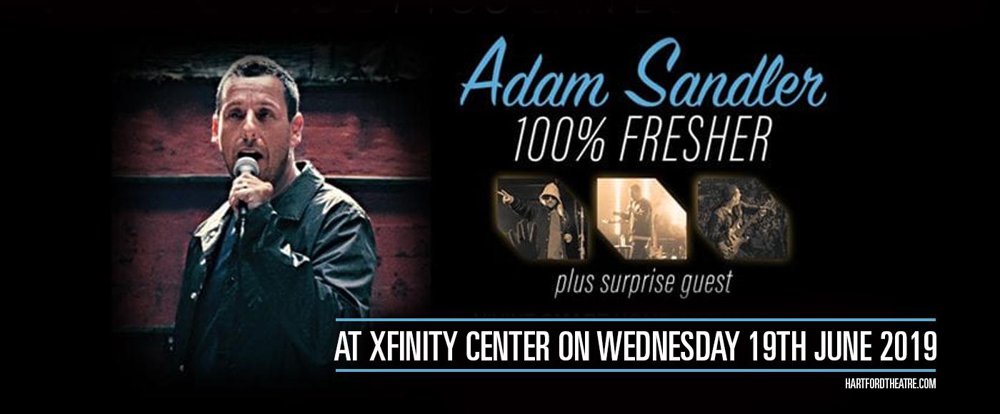 Adam Sandler at Xfinity Center