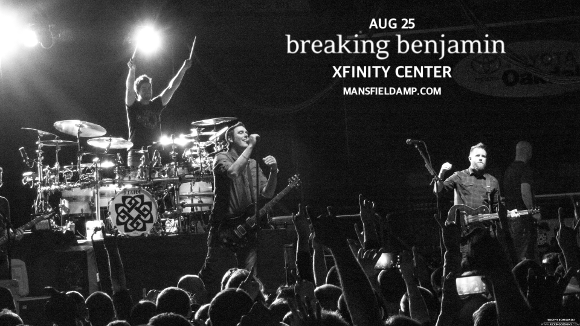 Breaking Benjamin & Three Days Grace at Xfinity Center