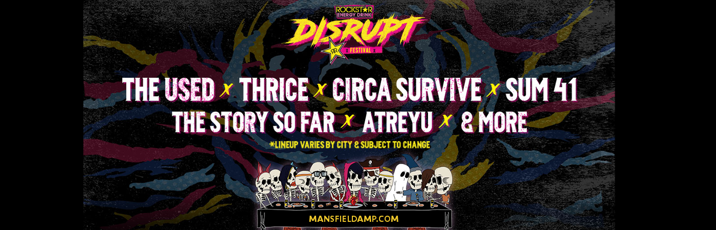 Disrupt Festival: The Used, Thrice, Circa Survive, The Story So Far & Atreyu at Xfinity Center