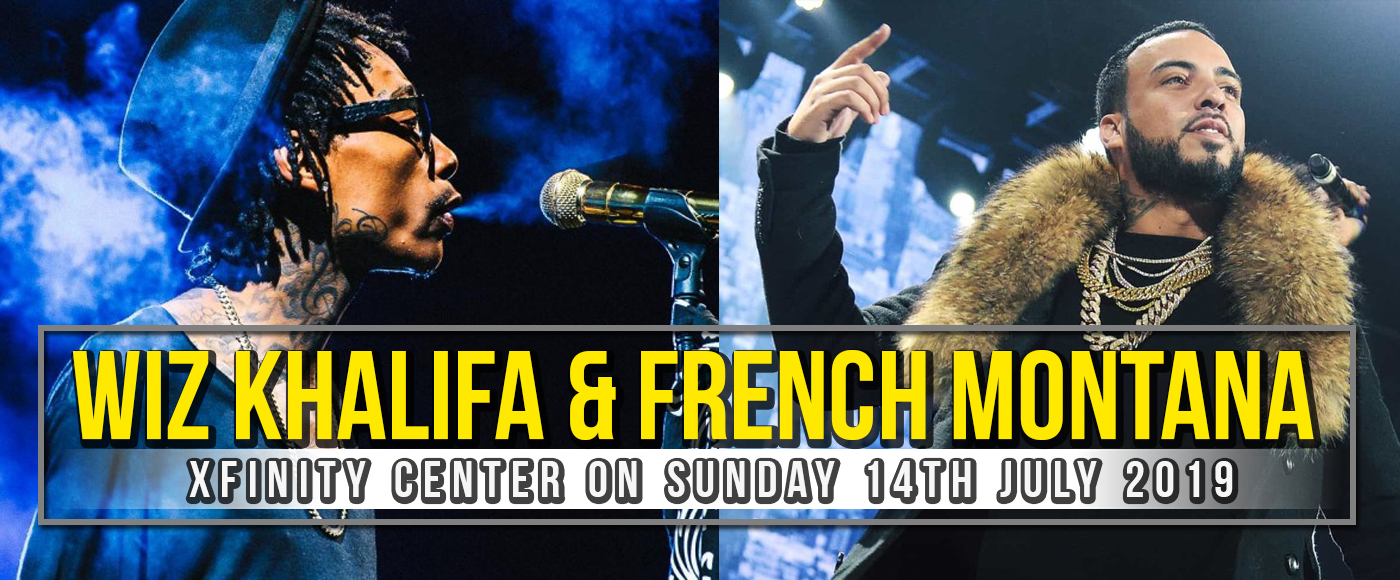 Wiz Khalifa & French Montana at Xfinity Center