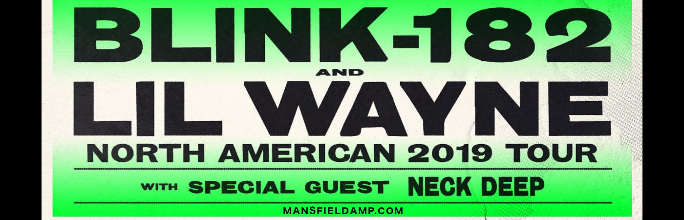 Blink 182 & Lil Wayne at Xfinity Center