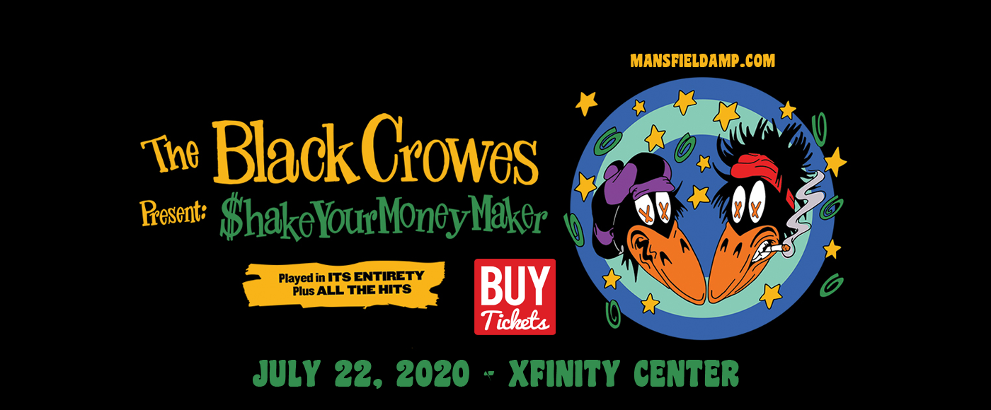 The Black Crowes at Xfinity Center