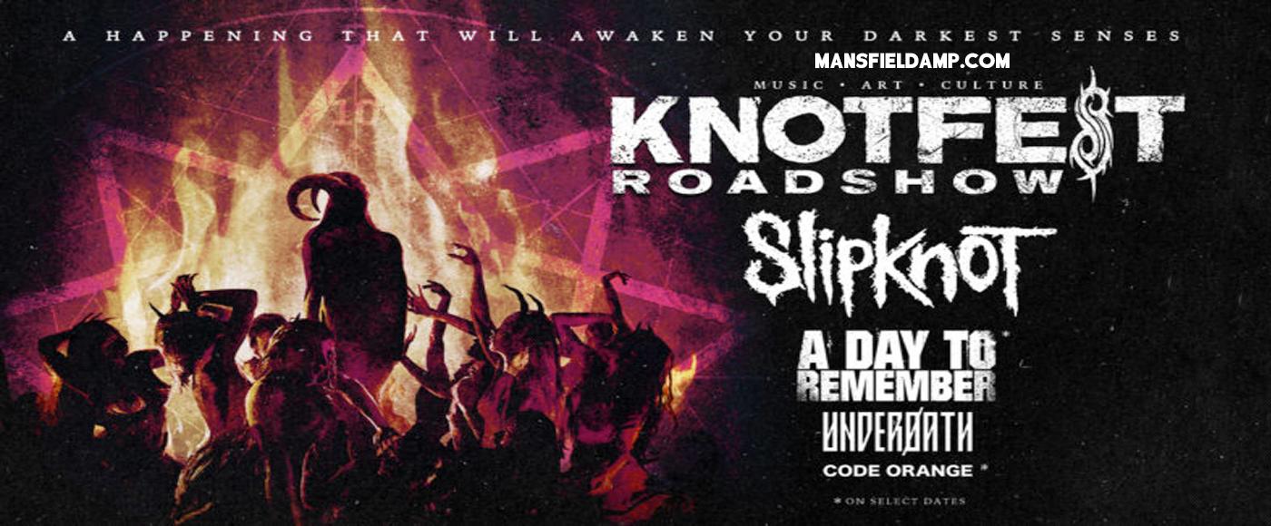 Knotfest Roadshow: Slipknot, A Day To Remember, Underoath & Code Orange at Xfinity Center