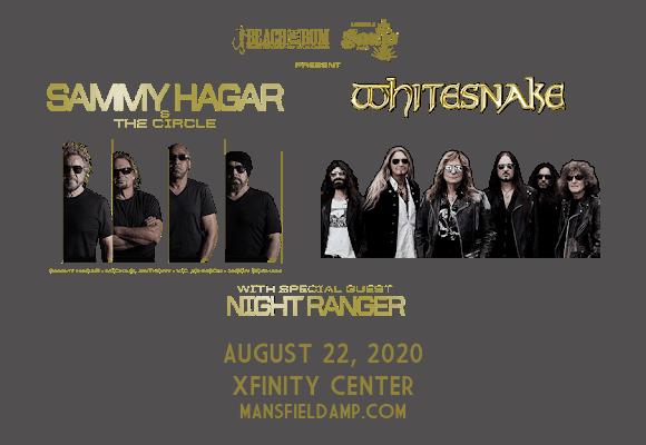 Sammy Hagar and the Circle & Whitesnake at Xfinity Center