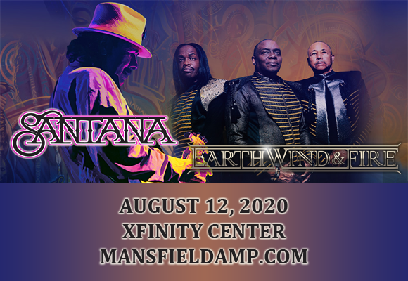 Santana & Earth, Wind and Fire at Xfinity Center