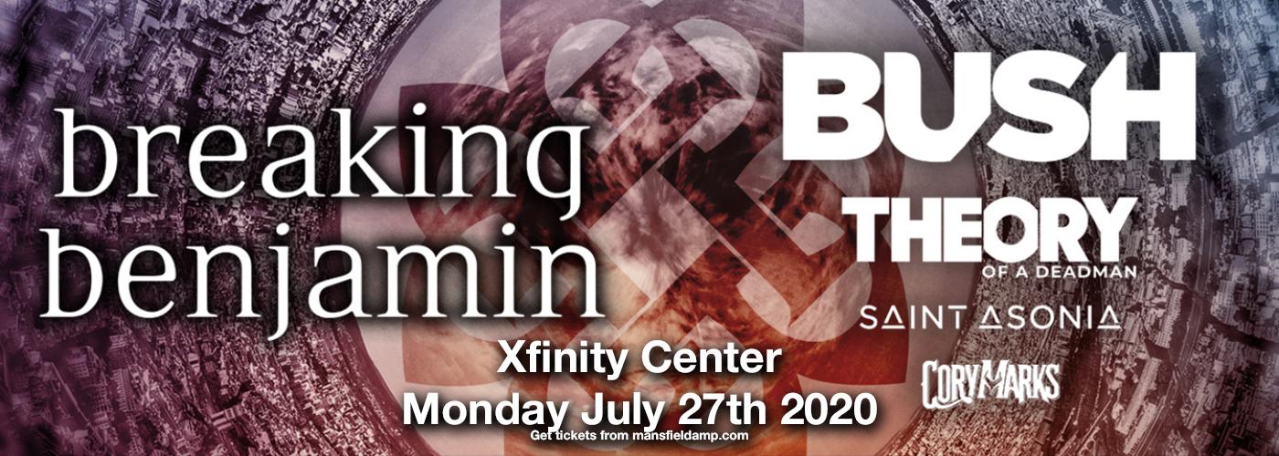 Breaking Benjamin & Bush [CANCELLED] at Xfinity Center