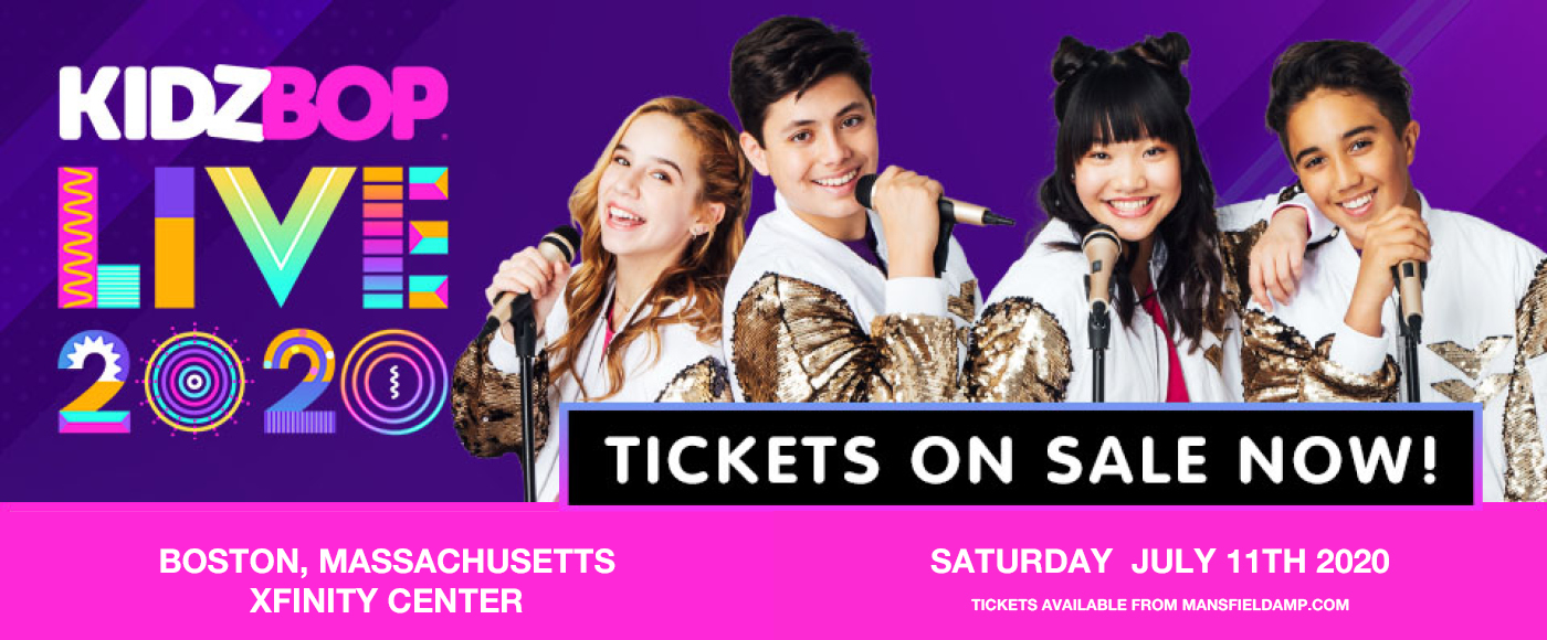 Kidz Bop Live [POSTPONED] at Xfinity Center