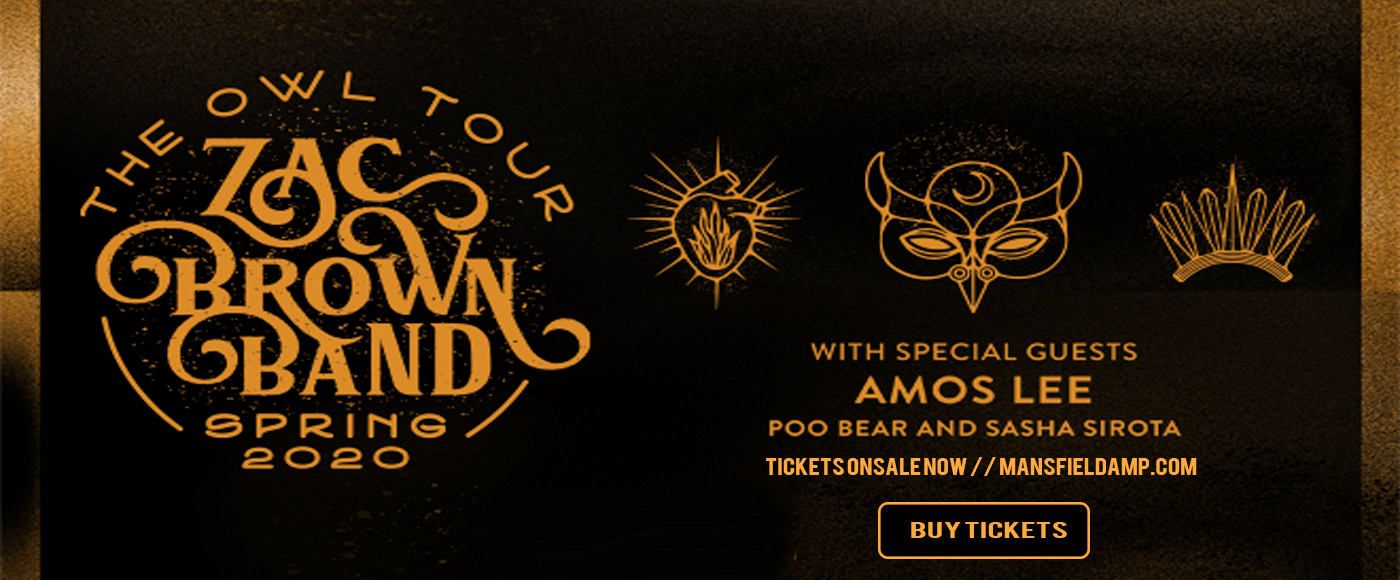 Zac Brown Band [CANCELLED] at Xfinity Center