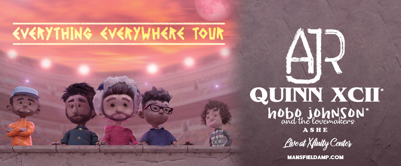 AJR, Quinn XCII & Hobo Johnson and The Lovemakers [CANCELLED] at Xfinity Center