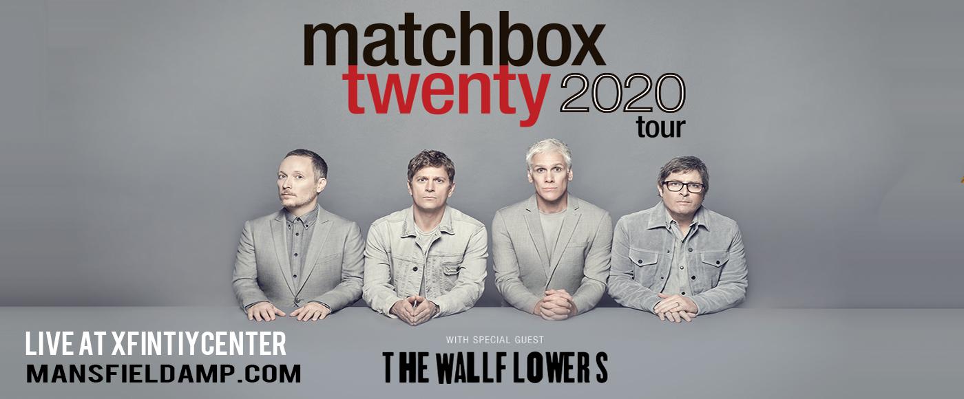 Matchbox Twenty & The Wallflowers [POSTPONED] at Xfinity Center