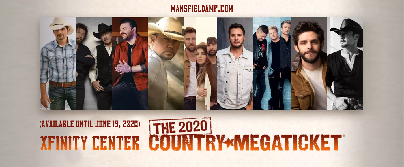 Country Megaticket (Includes Tickets To All Performances) [CANCELLED] at Xfinity Center