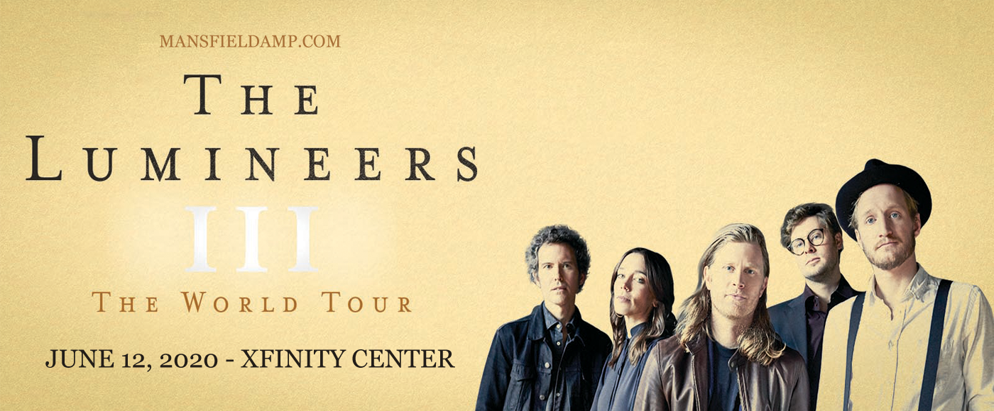 The Lumineers [CANCELLED] at Xfinity Center