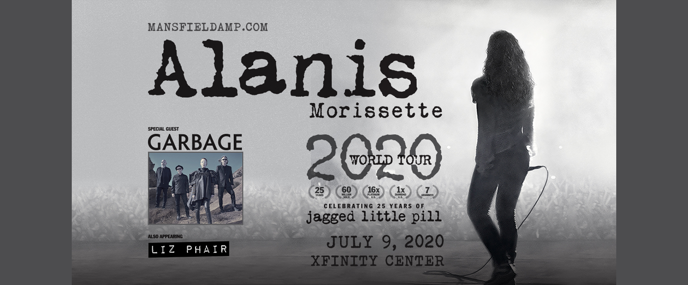 Alanis Morissette at Xfinity Center