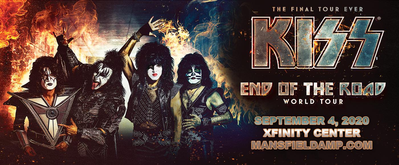 Kiss at Xfinity Center