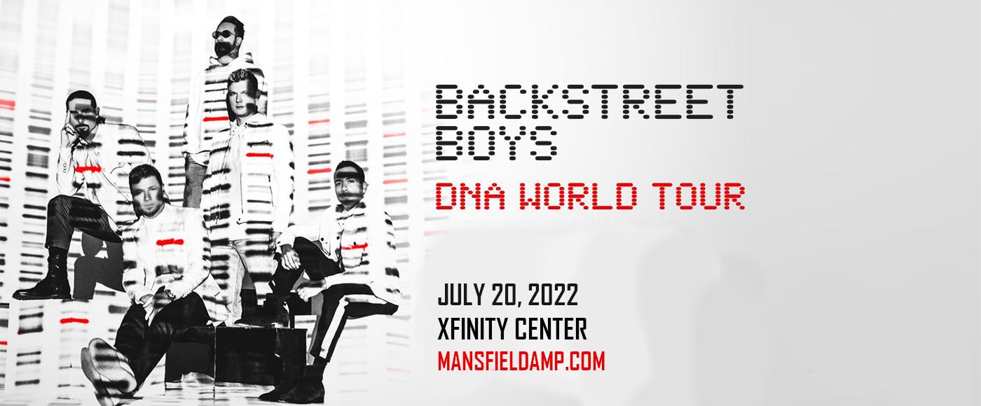 Backstreet Boys at Xfinity Center