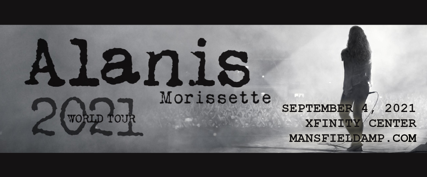 Alanis Morissette at Xfinity Center
