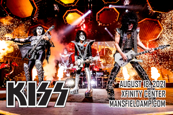 Kiss at Xfinity Center