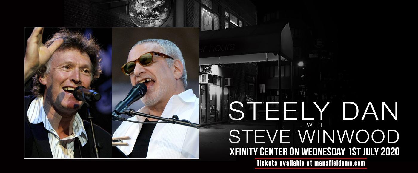 Steely Dan & Steve Winwood at Xfinity Center