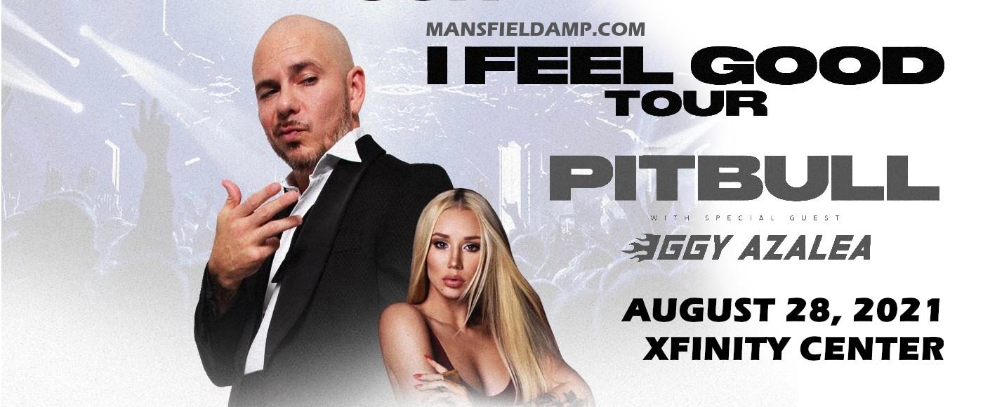 Pitbull at Xfinity Center