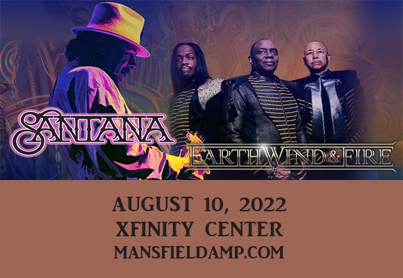 Santana & Earth, Wind and Fire at Xfinity Center
