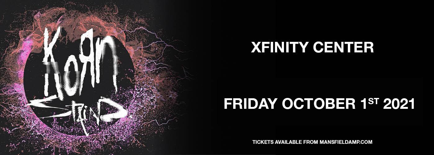 Korn & Staind at Xfinity Center